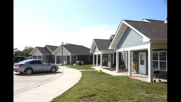 Laborers' Home Development Corp. opened a 50-unit apartment complex in Denison last year and is considering developing a similar complex in Jefferson. REBECCA MCKINSEY | DAILY TIMES HERALD