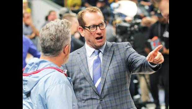 Nick Nurse helped guide the Toronto Raptors to the 2019 NBA title by knocking off the Golden State Warriors June 13. FILE PHOTO