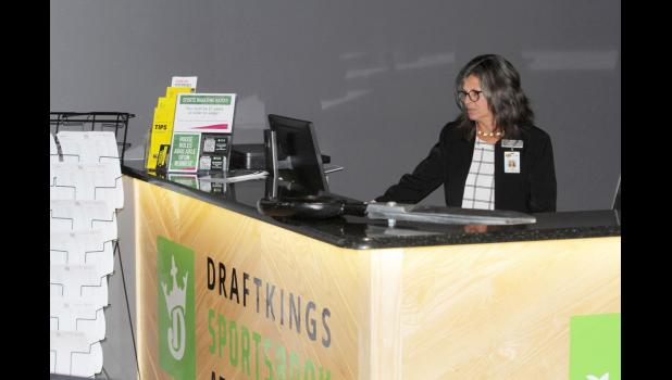 Sportsbooks across the nation have created new ways to stay engaged with sports gambling. The Draftkings Sportsbook at Wild Rose Casino has offered Belarus soccer and table tennis in the last few weeks.  JEFFERSON HERALD FILE PHOTO