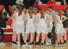The Greene County girls' basketball team picked up a big-time win in the first round of regional play Feb. 15, securing a comeback victory, 55-51 over Southeast Valley.  BRANDON HURLEY | JEFFERSON HERALD