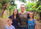 Jefferson native Andrea (Monroe) Baker, her husband Andy and children Daniel and Annalysa, recently completed their first year as missionaries in Nicaragua. During that time, the Central American country erupted in civil unrest. CONTRIBUTED PHOTO