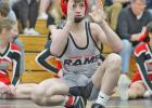 Greene County freshman McKinley Robbins enters the 2020 state tournament fresh off a district title and ranked second in the state at 106 pounds. The rookie has high expectations once the first round commences Thursday, Feb. 20 in Des Moines.  PHOTO BY ABBY DAVIS