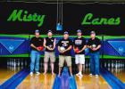Iowa State USBC 2014 Boster Team Champs (l. to r.) Rod Robbins, Bret Anderson, Charles Gunn, Jeremy Richards, Phillip Naylor.